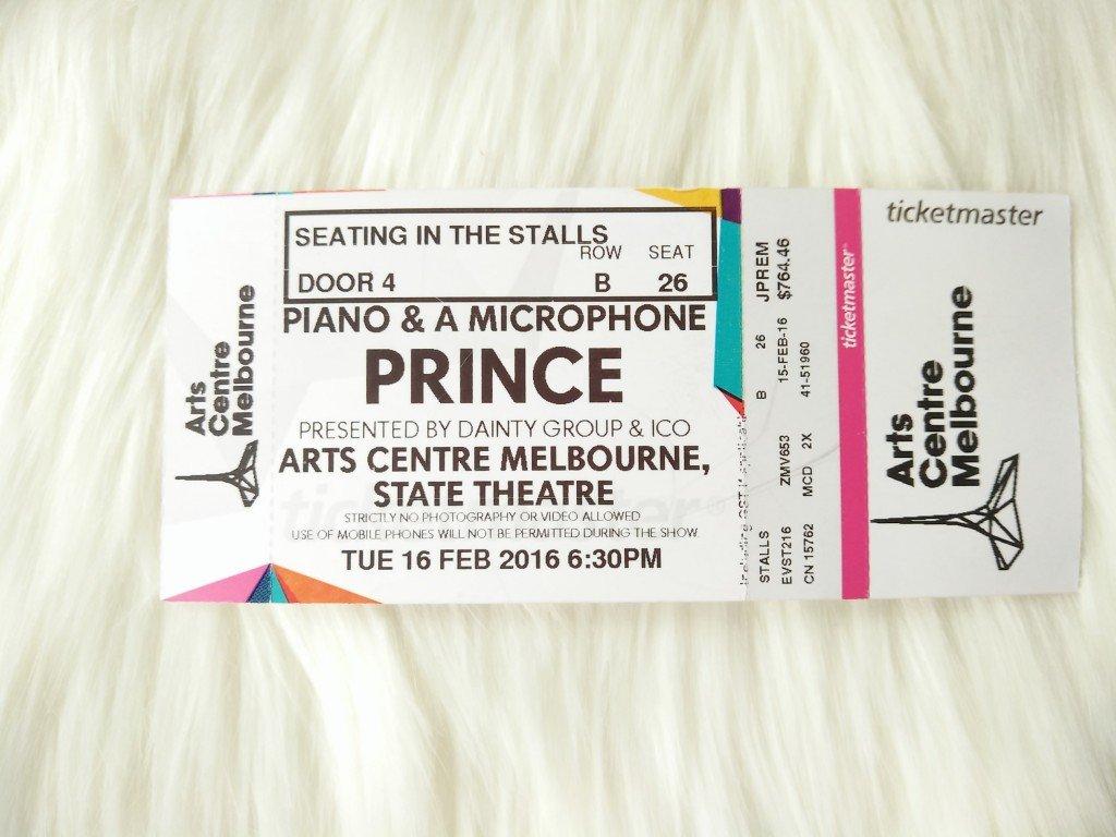 Prince: Piano & a Microphone Tour, Melbourne 2016 3