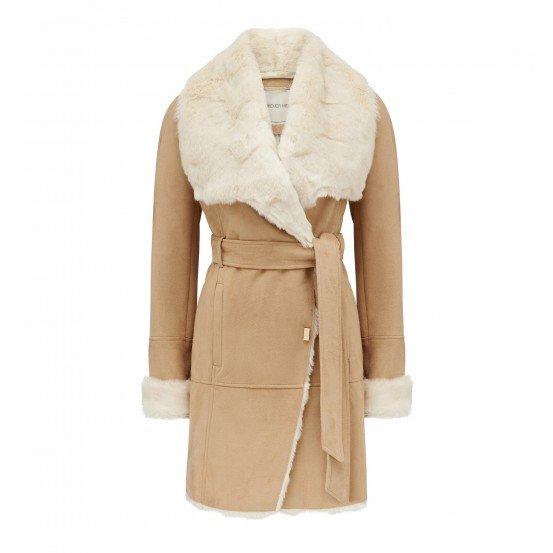 Jeska Faux Shearling Coat 1