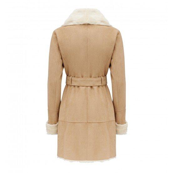 Jeska Faux Shearling Coat 2