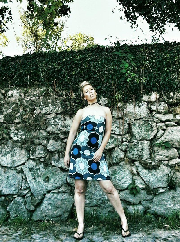 Vintage Zara Strapless Dress | Style & Life by Susana