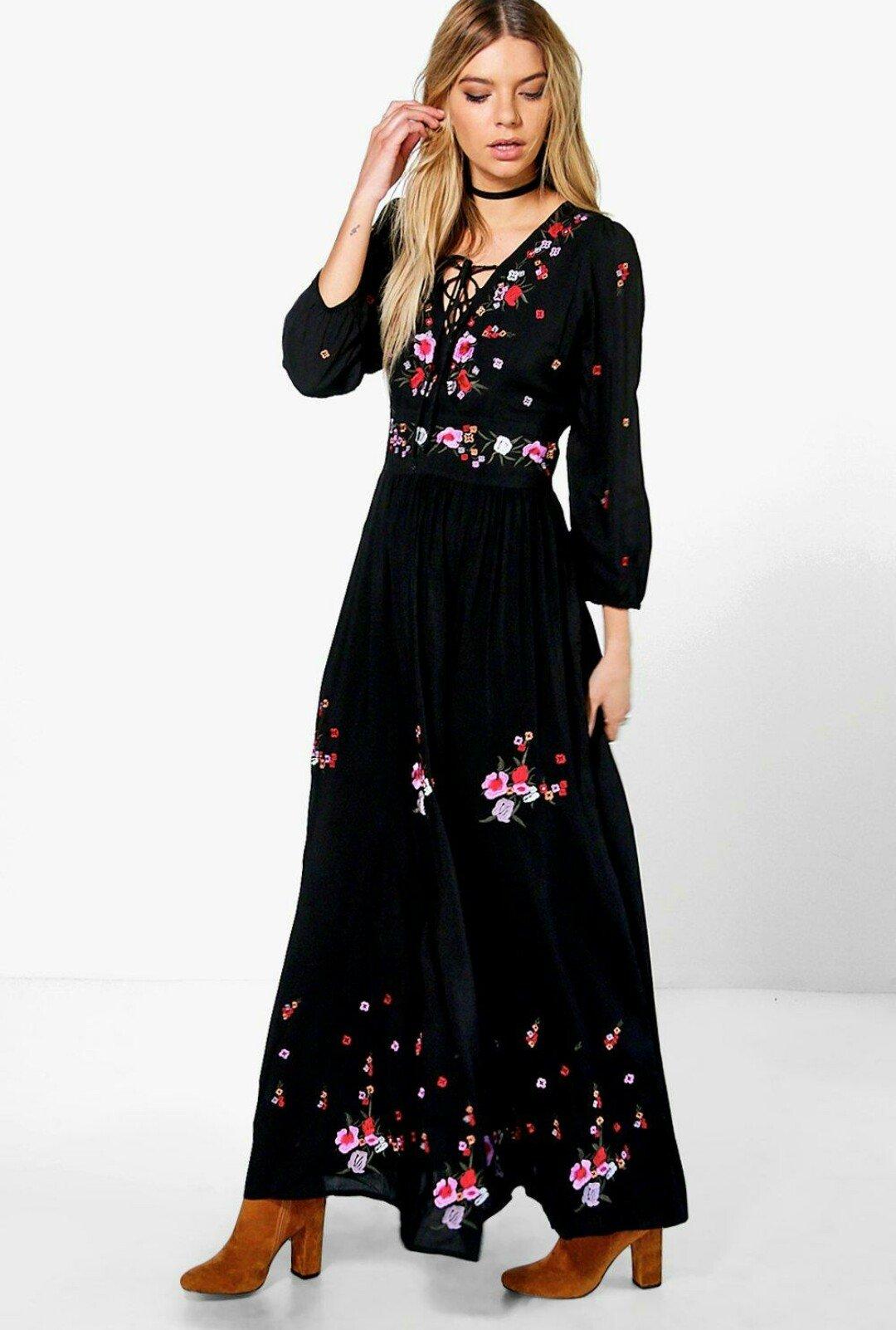 BooHoo | Spring Maxi Dresses - Style & Life by Susana