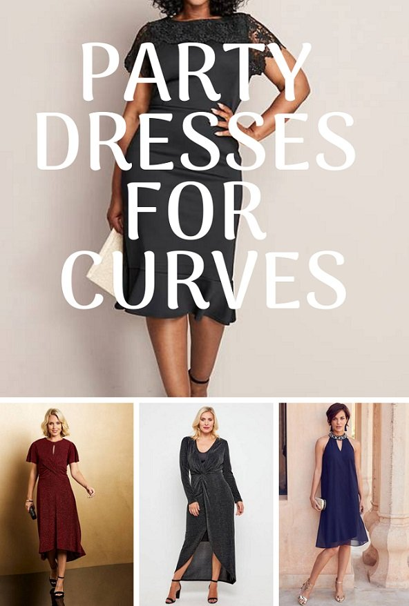 Party Dresses for Curves | Style & Life by Susana
